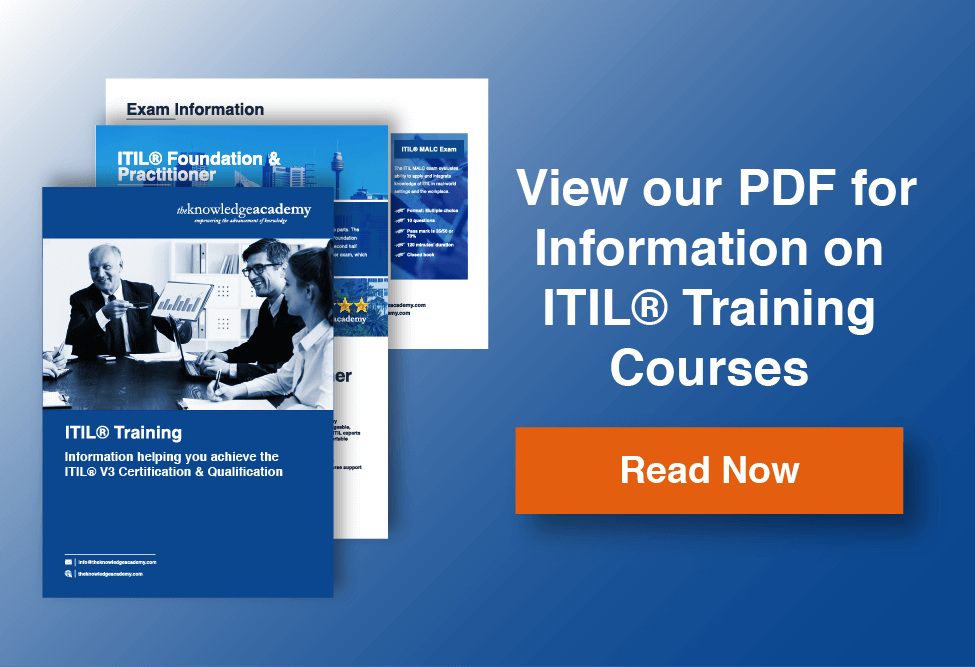 ITIL Training Information