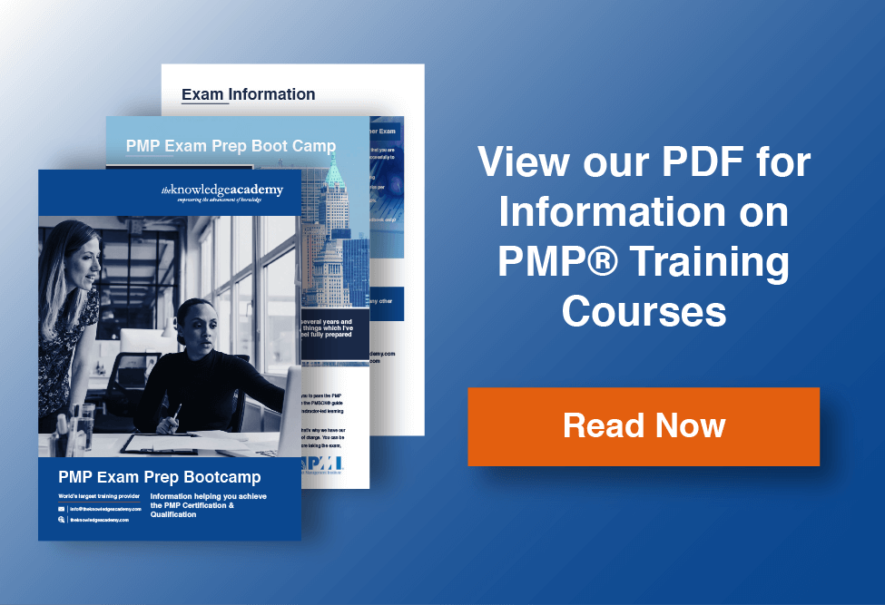 PMP Training Information