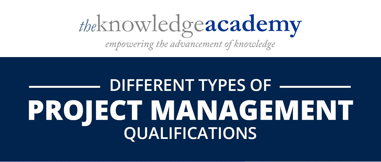 Different Types Of Project Management Qualification The Knowledge