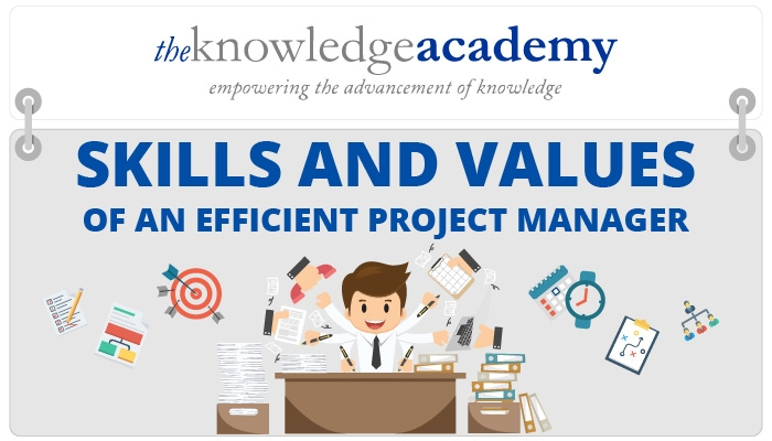 The Skills and Values of Efficient Project Managers