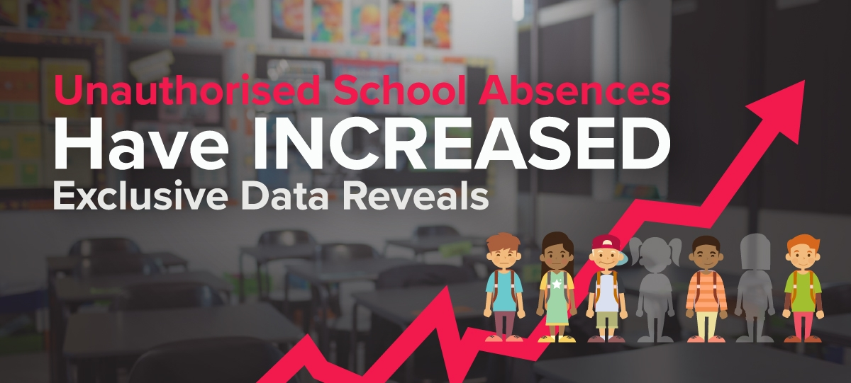 Unauthorised School Absences Have INCREASED - Exclusive Data Reveals
