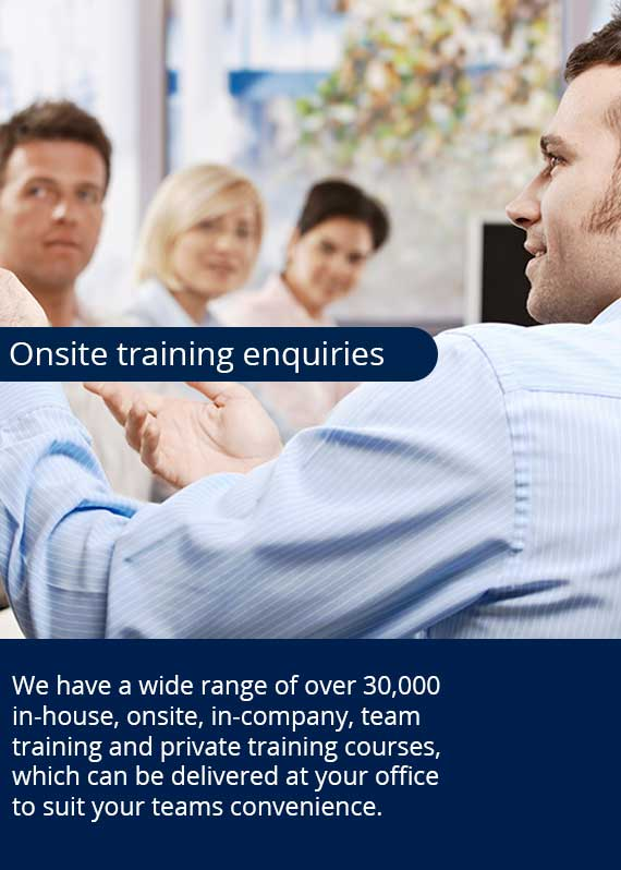 Onsite training enquiries